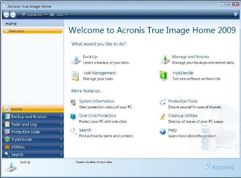 kuidas kasutada acronis true image