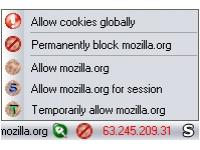 How to block tracking cookies