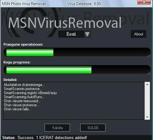 messenger virus removal