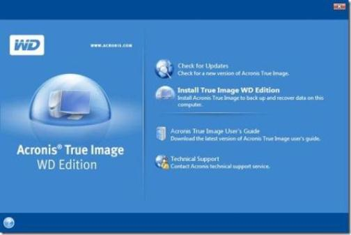Acronis True Image Free version