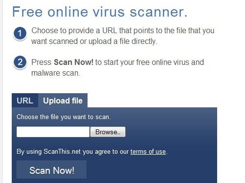 antivirus file scanners