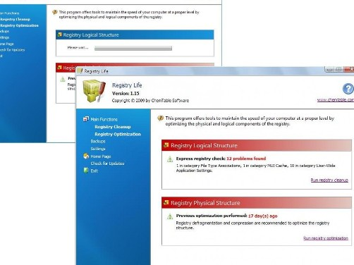 free Registry Life - system cleaner