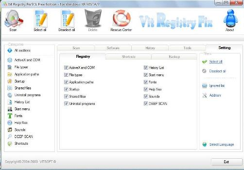 best registry cleaner - spyware free