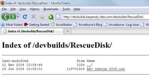 Kaspersky RescueDisk