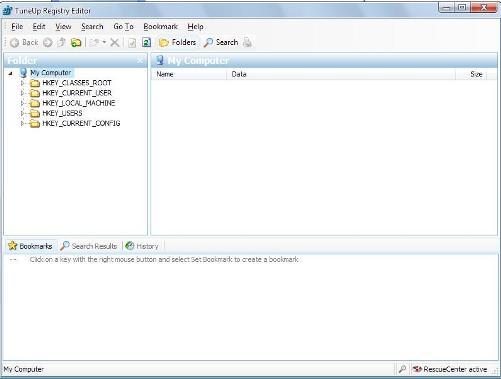 tuneup utilities registry editor