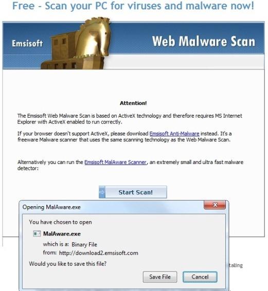 emsisoft web malware scanner