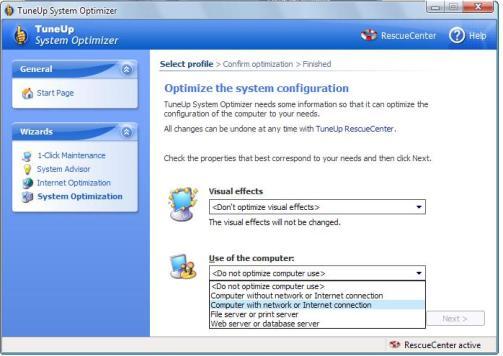 arvuti süsteemi optimeerimine