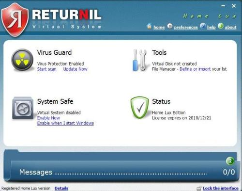 virtual system virus guard