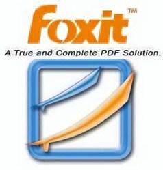 PDF faili avaja Foxit Reader