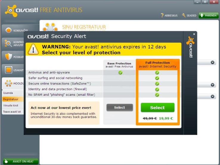 Avast antivirus home edition free download.