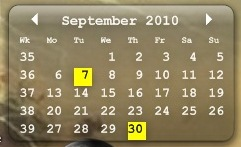 calendar to desktop