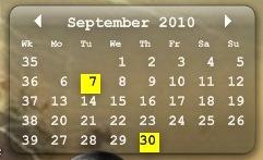 calendar to desktop