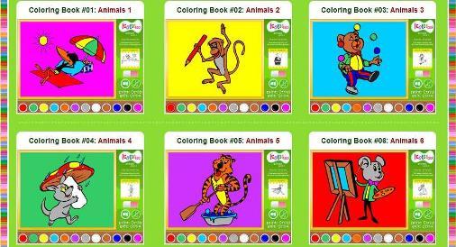 lastele värvimise raamat