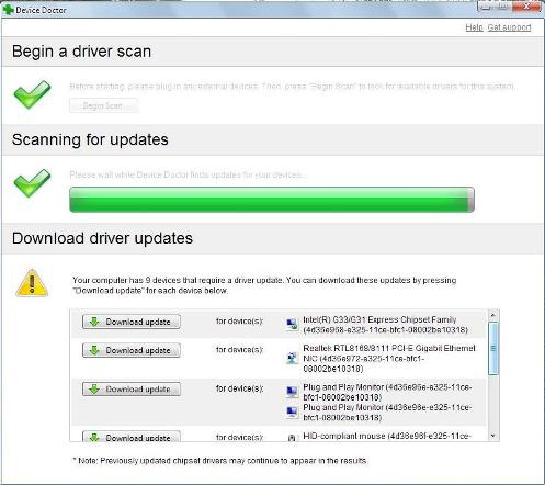 how to update a driver