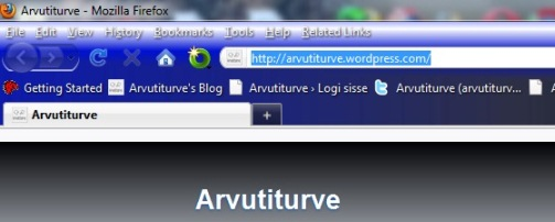 how to restore Firefox's toolbar