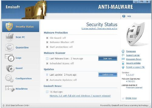 Emsisoft Anti-Malware Free review