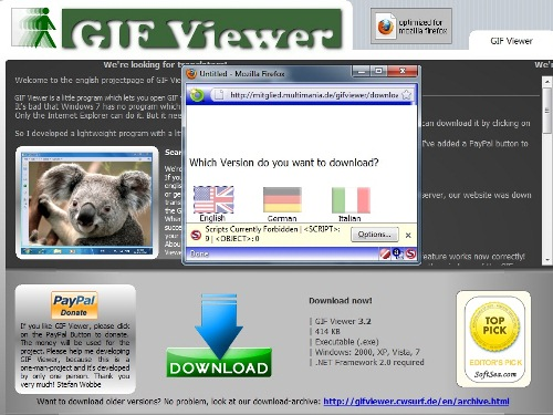 animated gif viewer for windows 7