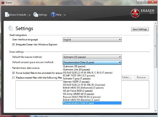 data eraser freeware