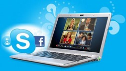 Facebook and Skype Integration