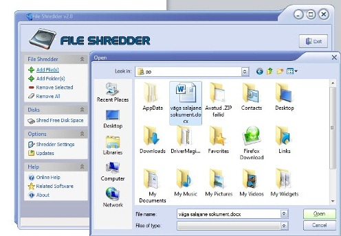 security and privacy file shredder
