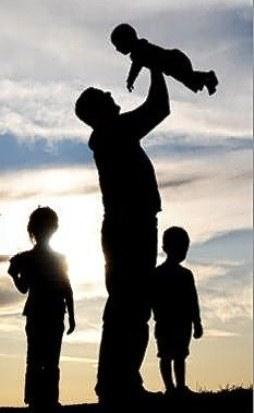 Isadepäeval koos lastega