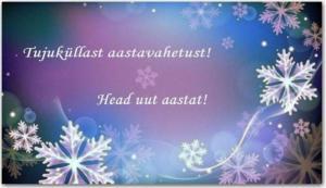 e-kaart: head uut aastat