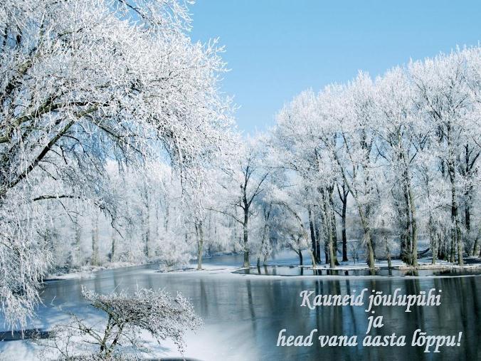 Taustapildid talvest, talvisest loodusest ja imelisest jõuluajast (2/6)