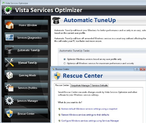 0b1544cc988 Windows 7 ja Vista kiiremaks muutmine Vista Services Optimizer abiga ...