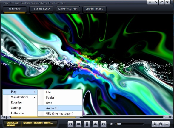 audio ja video player