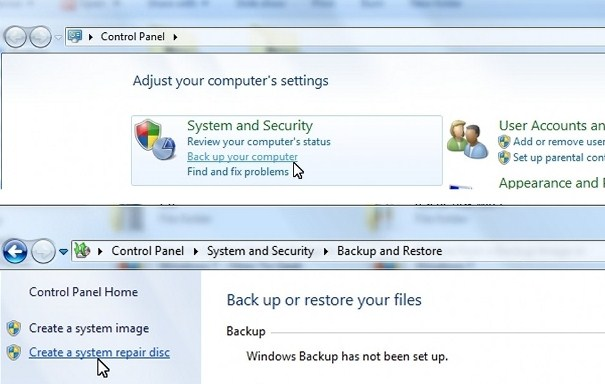 Windows 7 will not boot