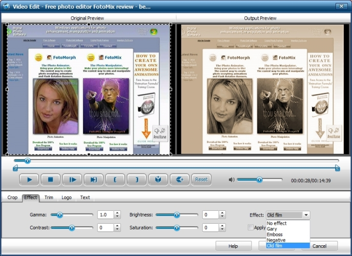 Videotöötlus - iWisoft Free Video Audio Converter