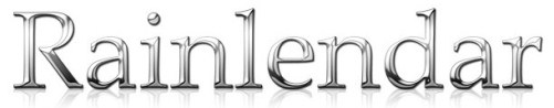 Freeware desktop calendar Rainlendar Lite