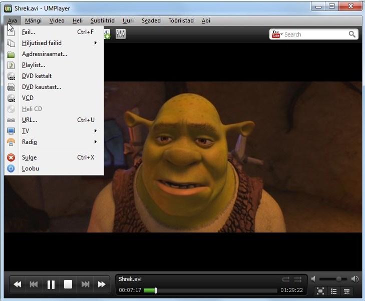 Shrek koos subtiitritega