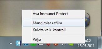 Viirusetõrje Immunet Protect Free