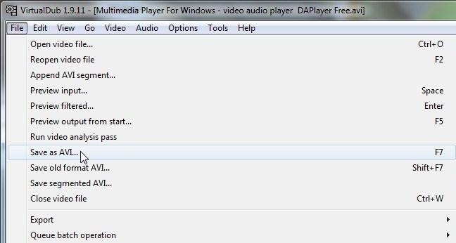 Audio eraldamine videost