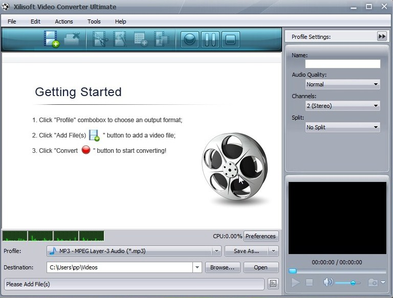 Xilisoft Video Converter serial key