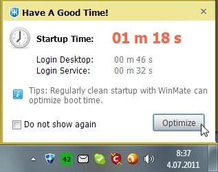 Windows avanemise kiirendamine