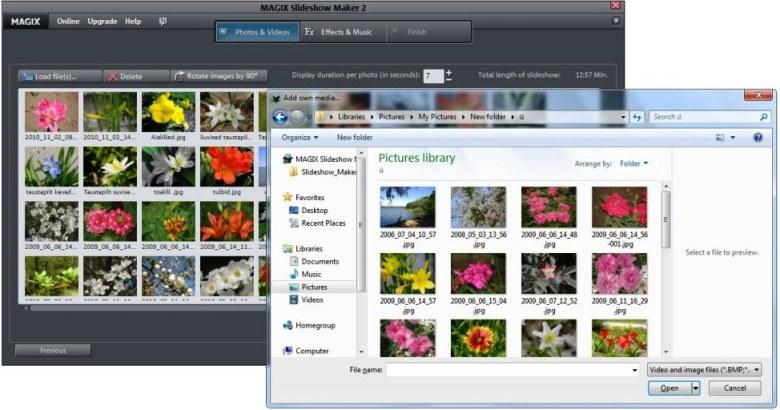 Best Free photo slideshow marker