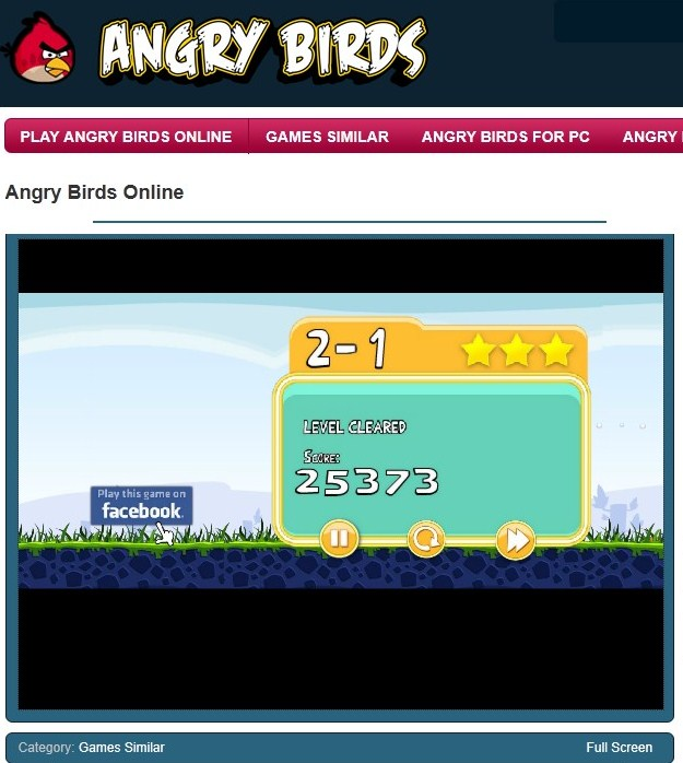 Tasuta Angry Birds mängimine
