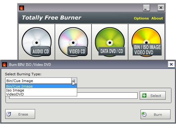 Buutivate (boot disk) ISO failide kirjutamine plaadile