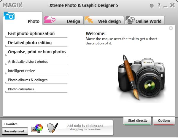 Fotode, piltide töötlemine ja kiire optimeerimine