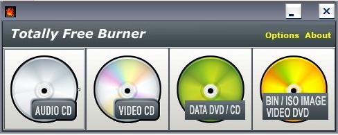 ISO BIN CUE UDF failisüsteemi kõrvetaja, kirjutaja