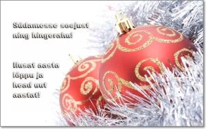 Salmid Head vana aasta lõppu soovidega
