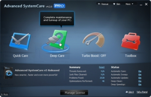 IObit Advanced SystemCare PRO 4 Full Free Giveaway