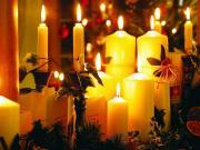 Jõuluküünlad säramas
