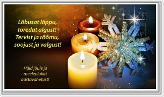 Luuletused ja salmid jõuludeks ja aastavahetuseks