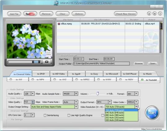 Videote konverteerimine HD kõrge kvaliteediga videoks
