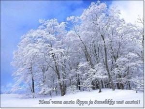 Soovid ja tervitused uueks aastaks