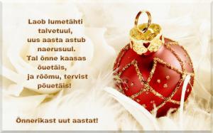 Salmid ja luuletused uueks aastaks