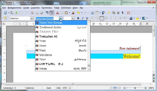 Free for all Office - Microsoft Office alternative